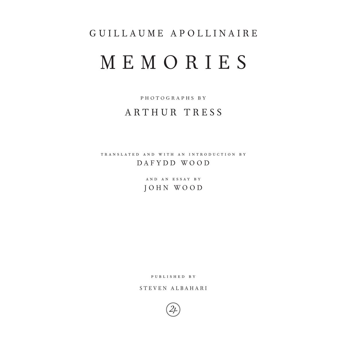 Guillaume Apollinaire, Memories
