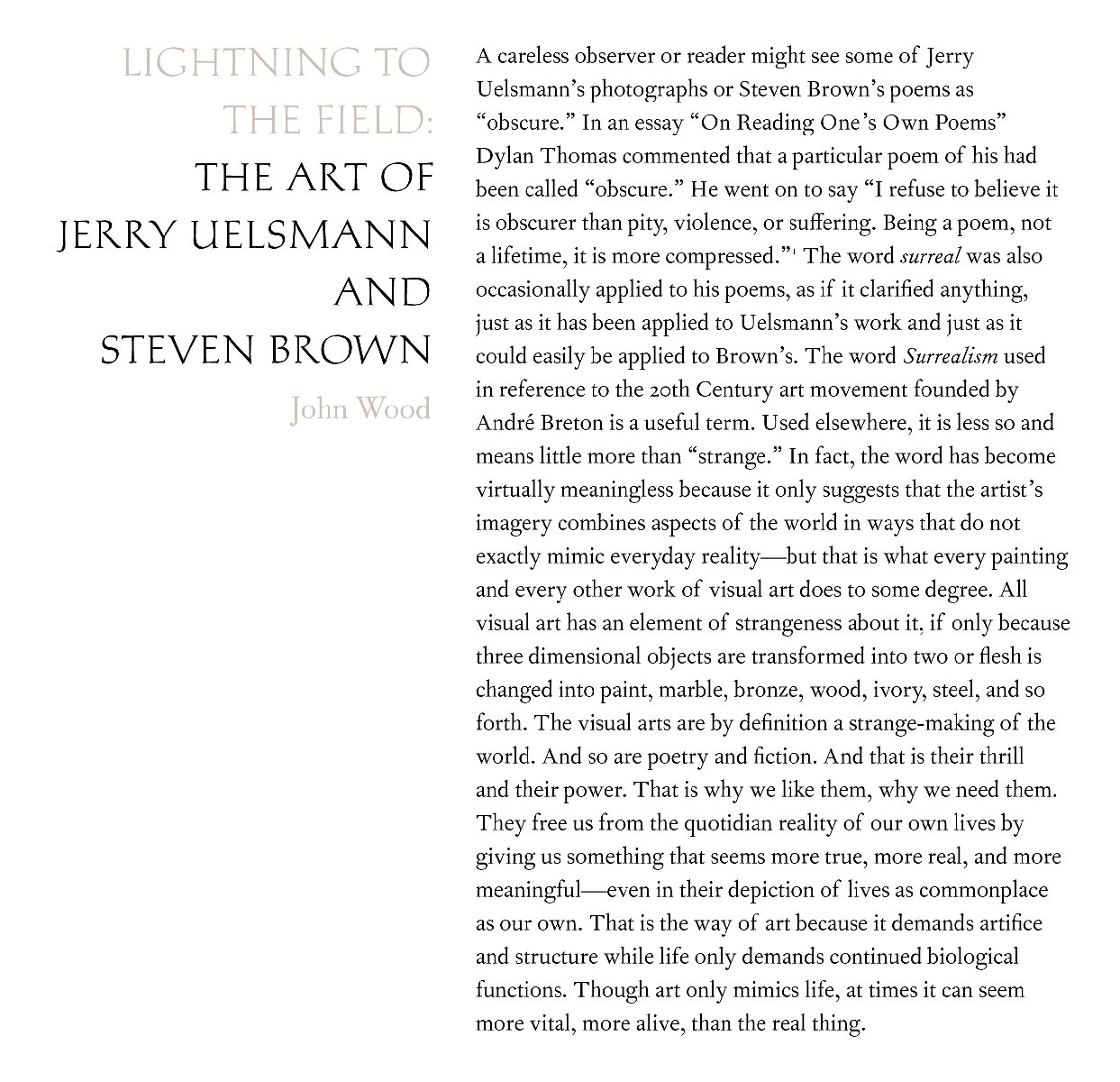 Steven Brown, Moth and Bonelight