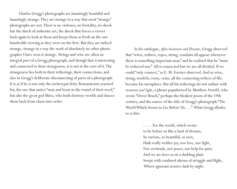 John Wood, Cracked: The Art of Charles Grogg