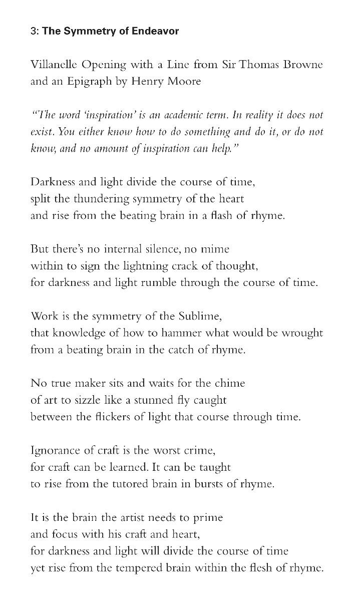 John Wood, The Symmetry of Endeavor