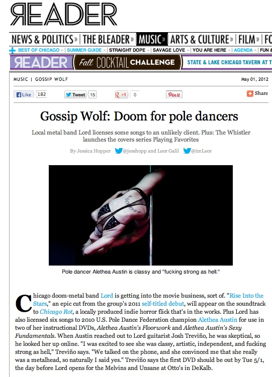 The  Gossip Wolf  on the  Chicago Reader  find awesome metal with two unlikely but talented acts. #chicagorot