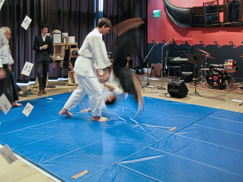 Aikido demonstration