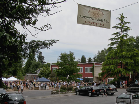 Meadowbrook Market Entrance