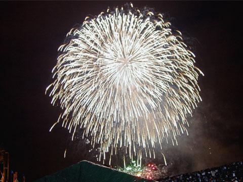 Fireworks at Gas Works Park