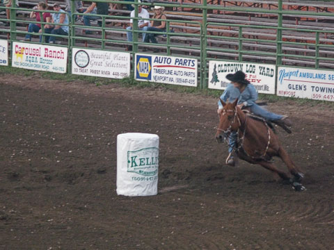 Bull-A-Rama Barrel Racing