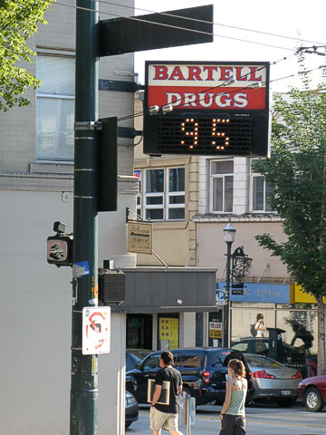 Thermometer in U District