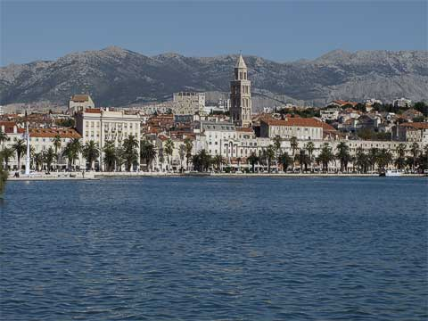 Split's waterfront