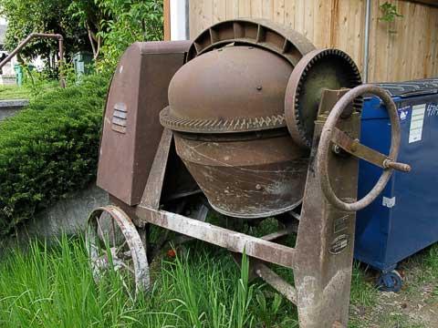 Old mixer