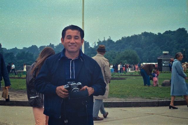 Uncle Easy at Niagara Falls, 6/1973