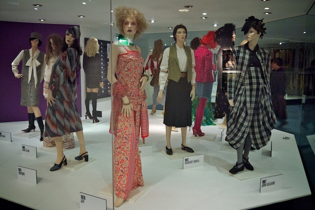 Dress of the Year exhibit at the Bath Fashion Museum