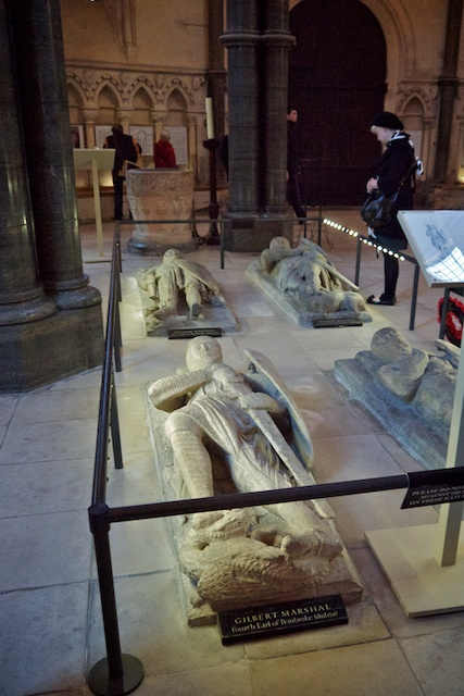 Knights Templar crypts in Temple Church