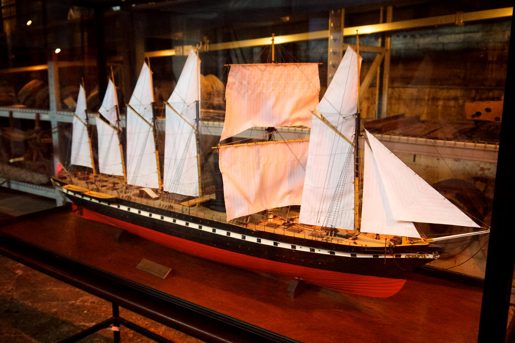 SS Great Britain model