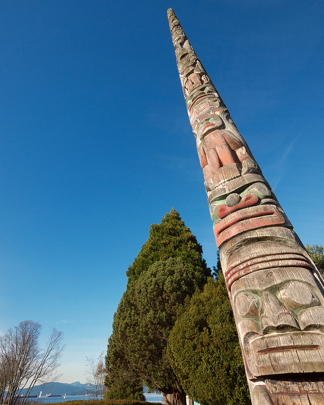 Totem Pole at the Maritime Museum