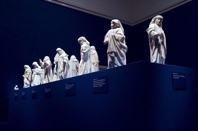 Mourners exhibit