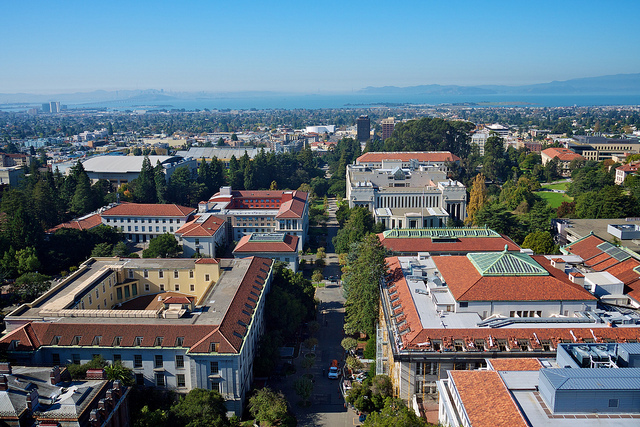 View from Sather Tower