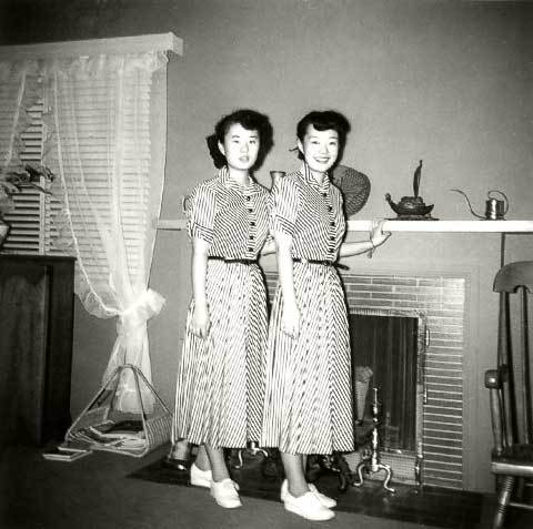 Kiyo and Frances, early- to mid-1950's