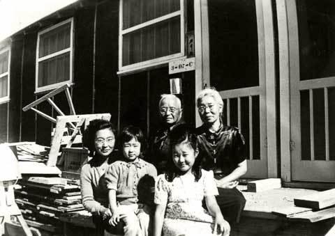 Hisa, Kiyo, Frances, Matsutaro, Aki