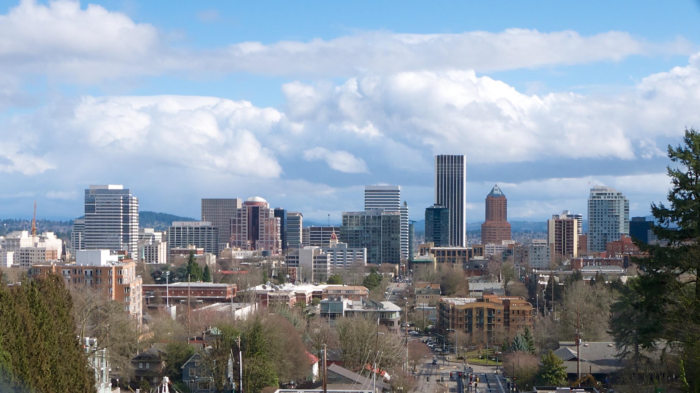 View from Vista Bridge