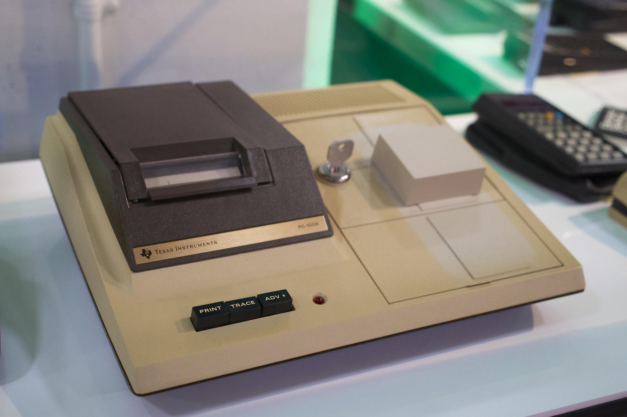 PC-100A printer