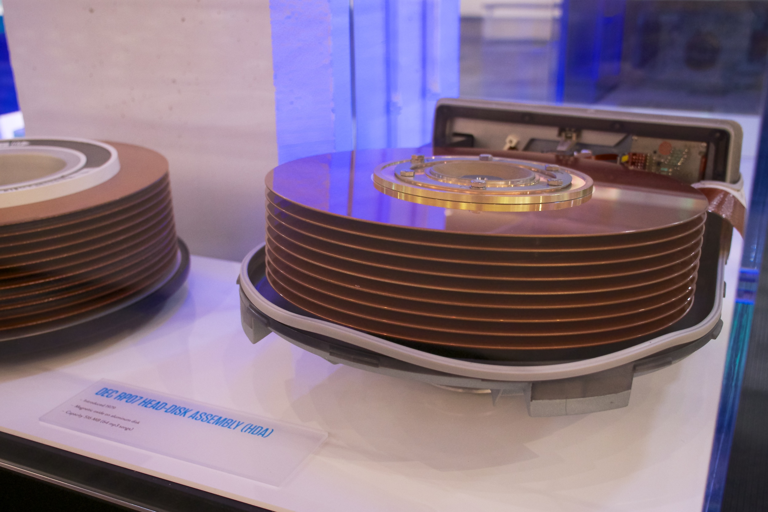 RP07 disk assembly