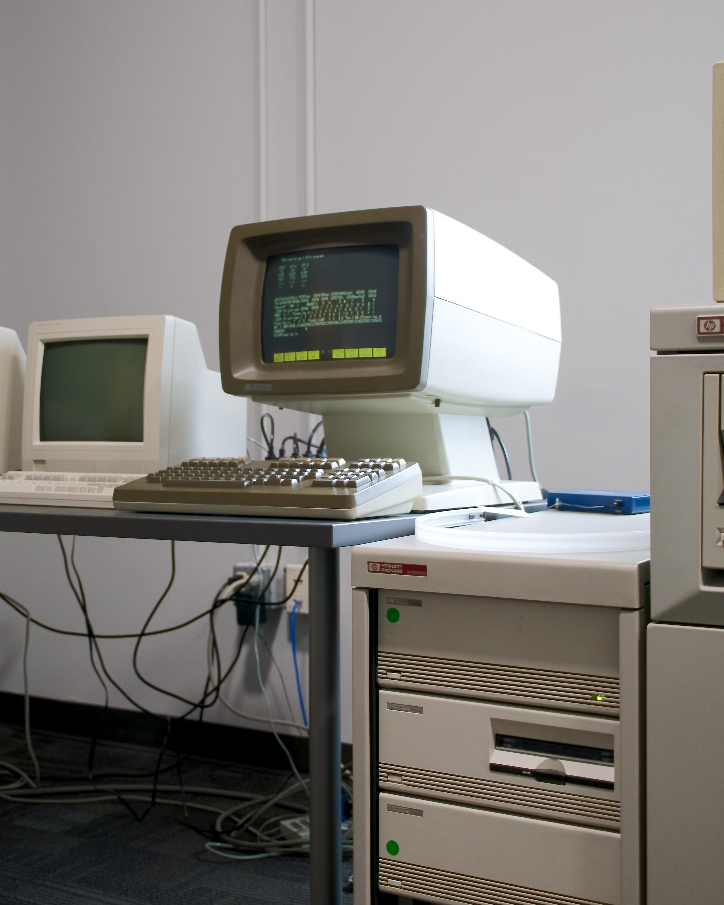 HP 2627A, rack