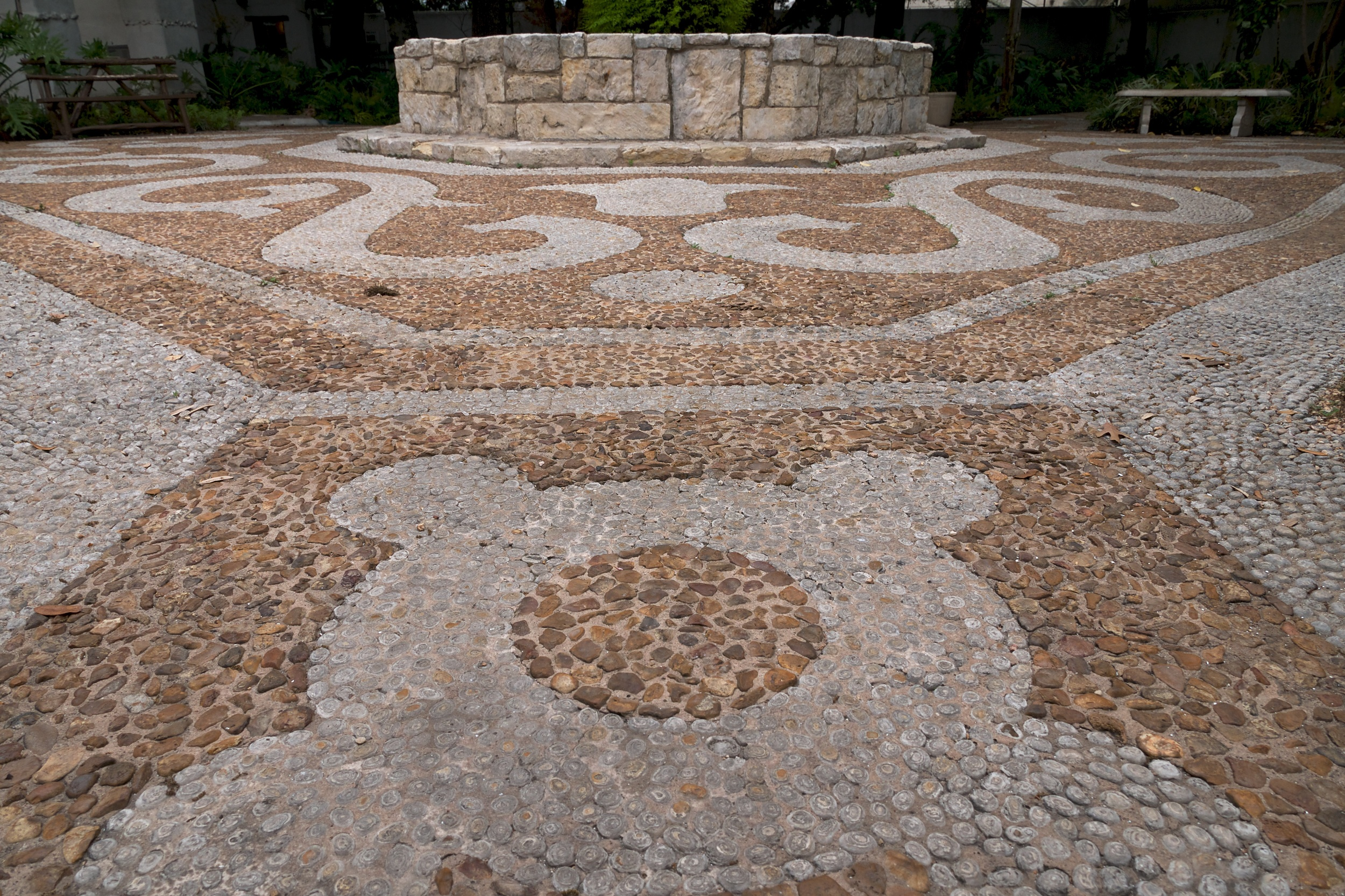 Back patio of the Spanish Governor's Palace