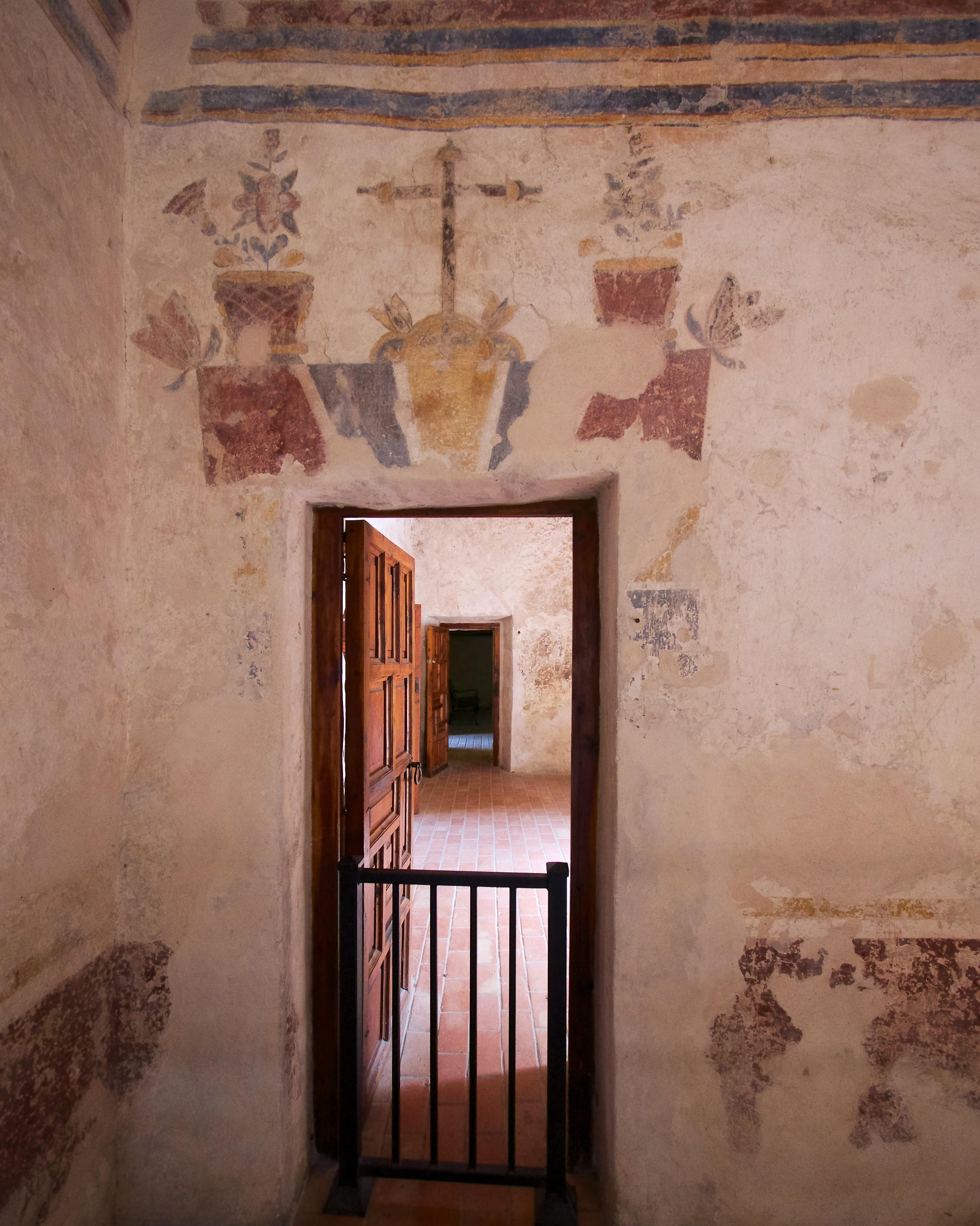 Mission Concepción frescoes
