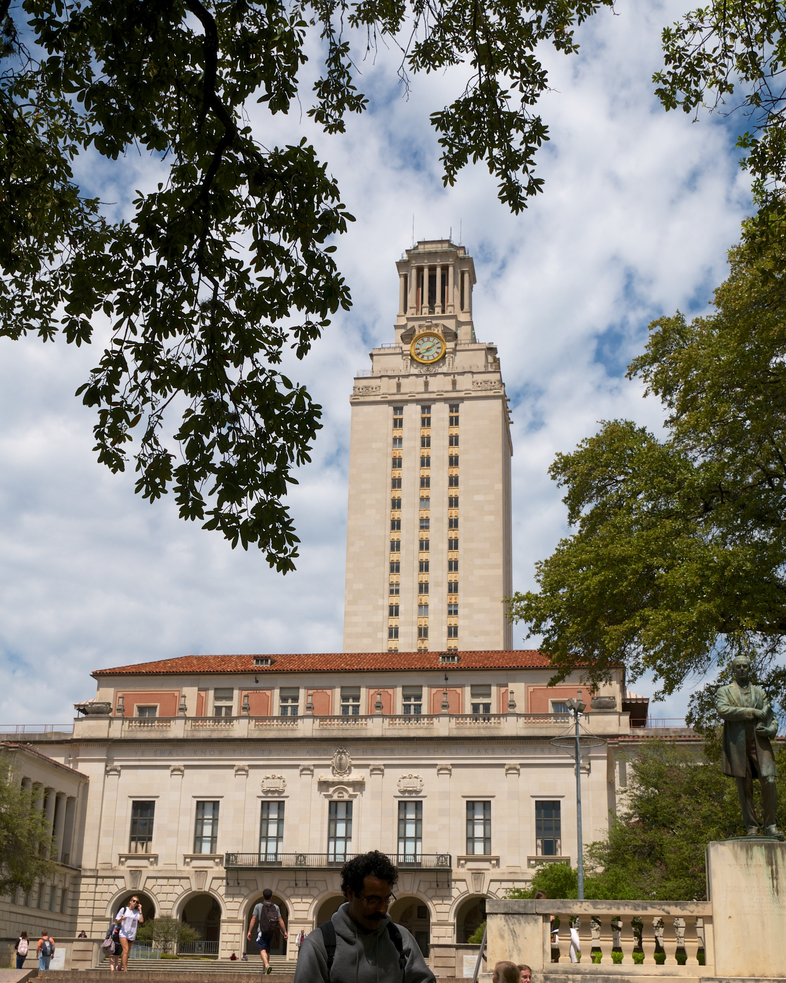 University of Texas Main Building and tower
