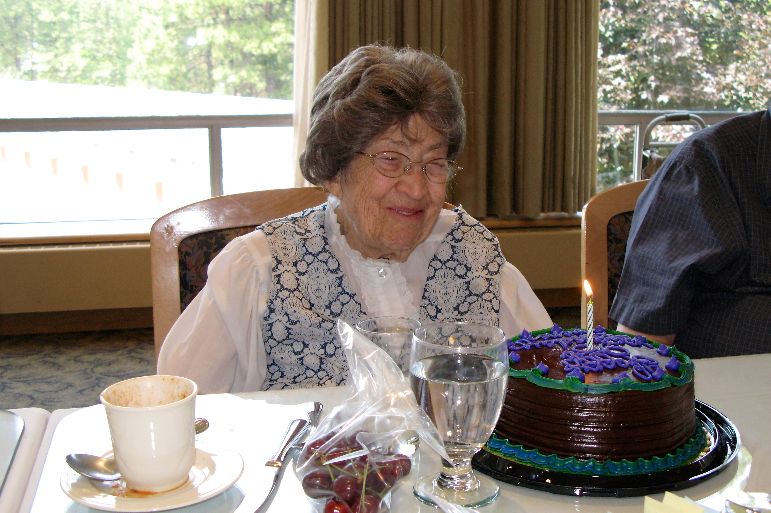 Celebrating Irene's 95th birthday (2009)