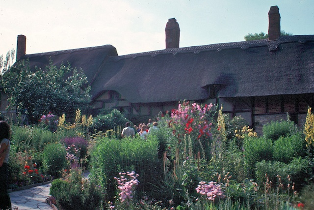 Anne Hathaway's cottage, from July 1977