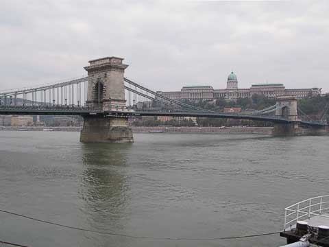 The most iconic of the bridges to span the river is the Chain Bridge (Lánchíd).