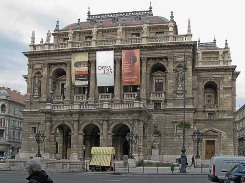 Front of the Opera House
