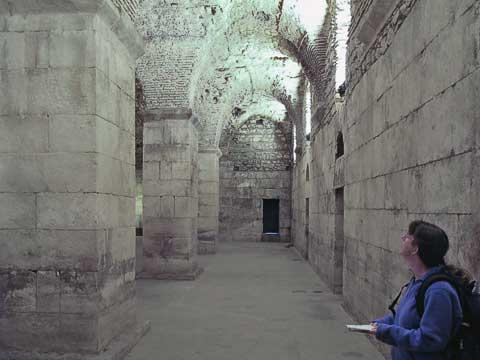 Inside Diocletian's Cellars