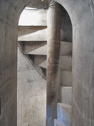 Just off the mosque is a set of stairs which go up the minaret, providing a great view of the city.