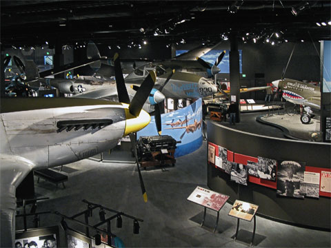 A relatively new wing is named Personal Courage and has exhibits about WWI and WWII.