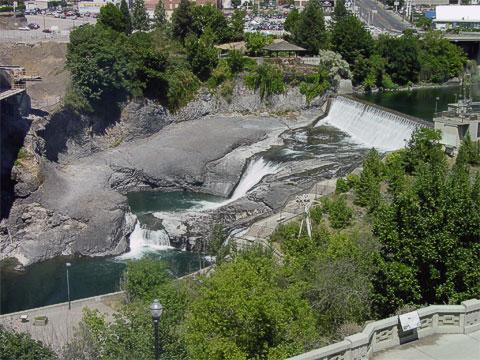 Spokane Falls 7/2004.