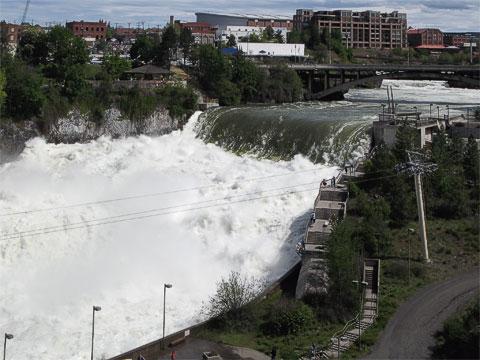 Spokane Falls 5/2008.