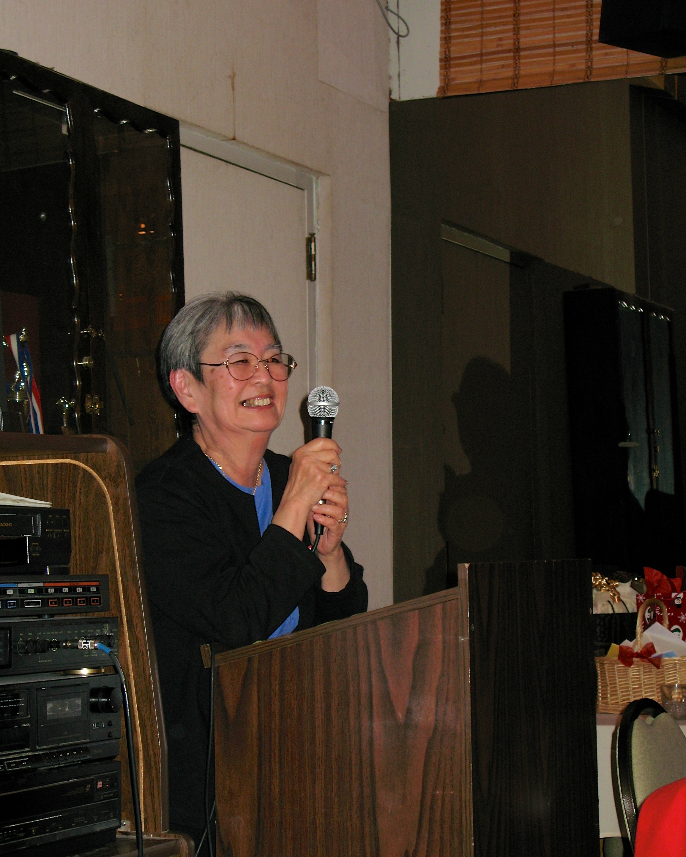 Kiyo speaking