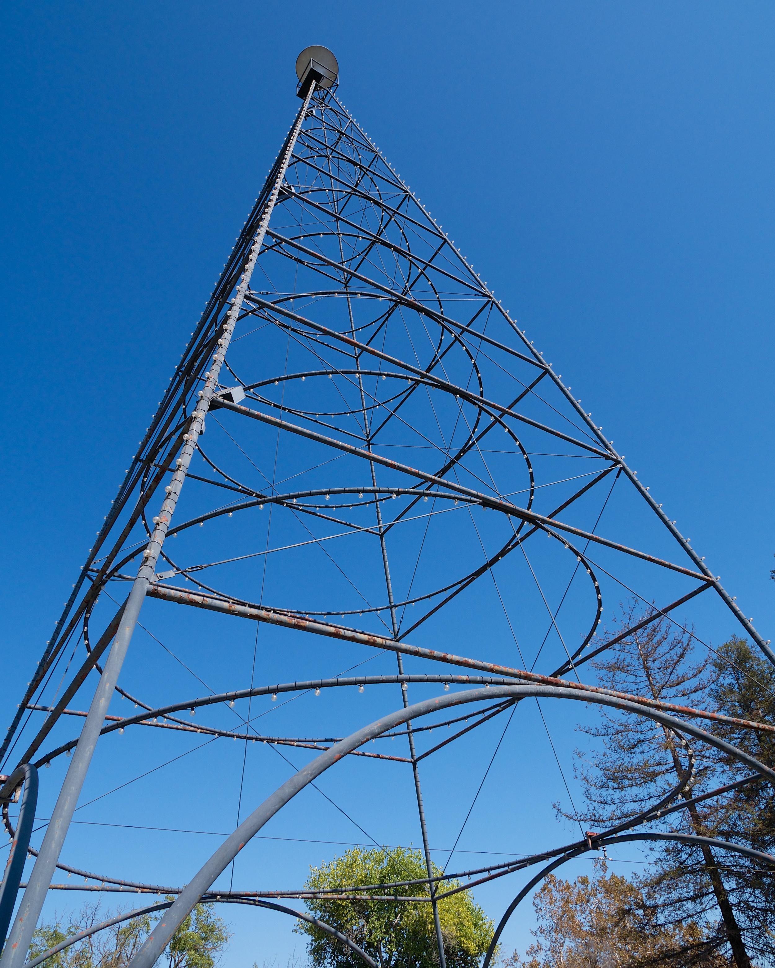 San Jose Electric Light Tower replica