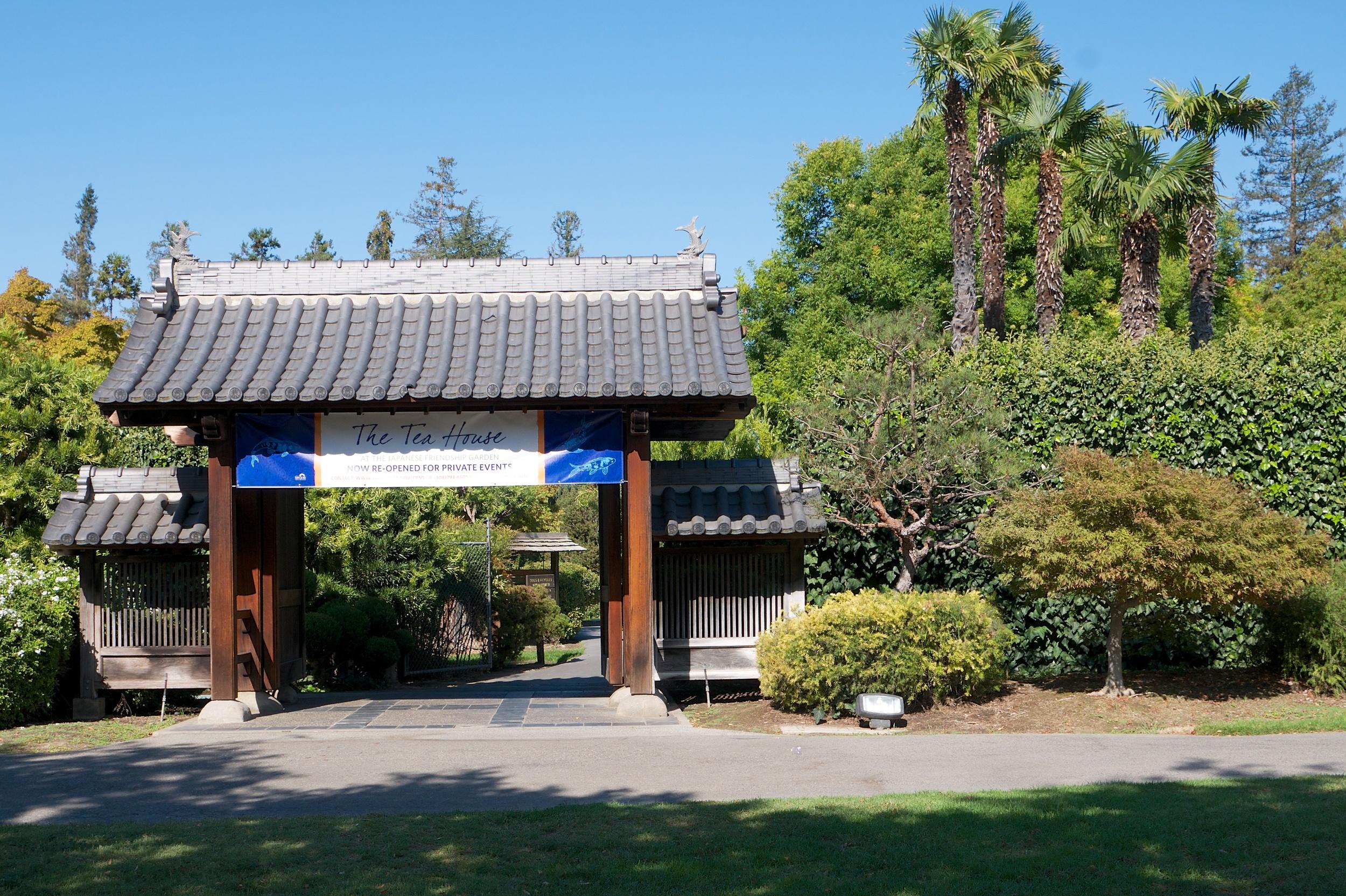 Japanese Friendship Garden entrance