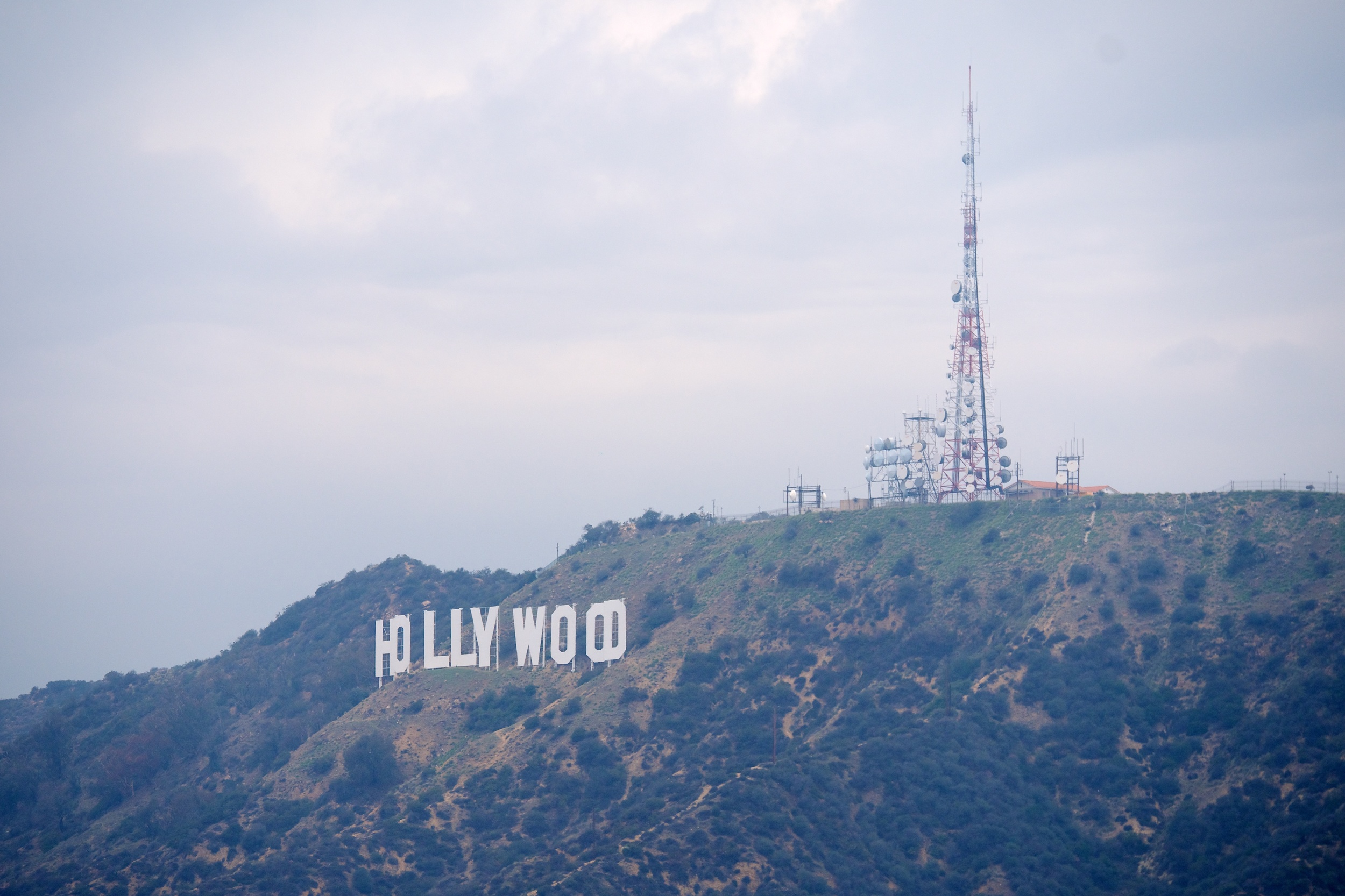 This was about as close as we could get to the Hollywood sign