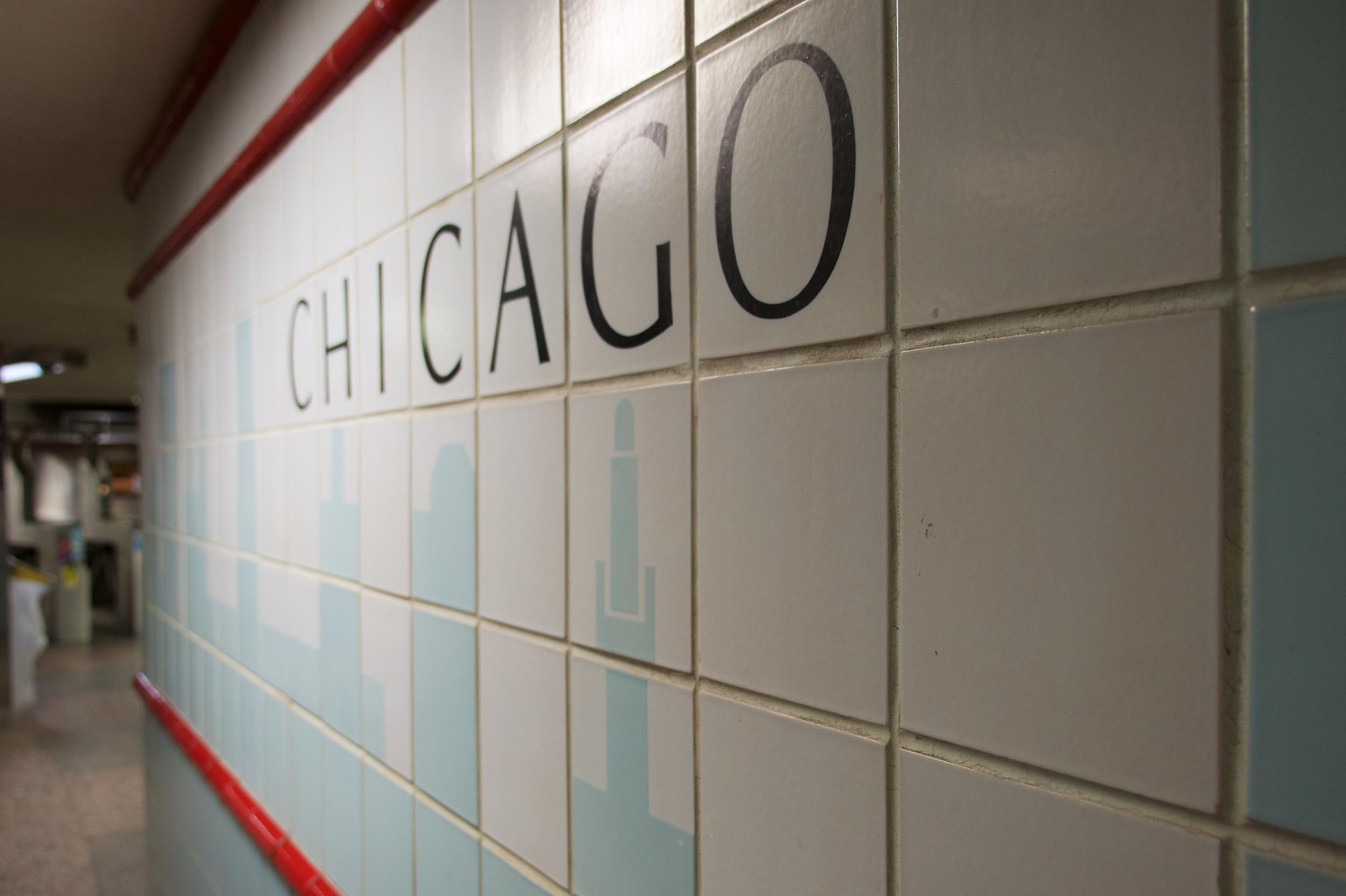 Chicago CTA station