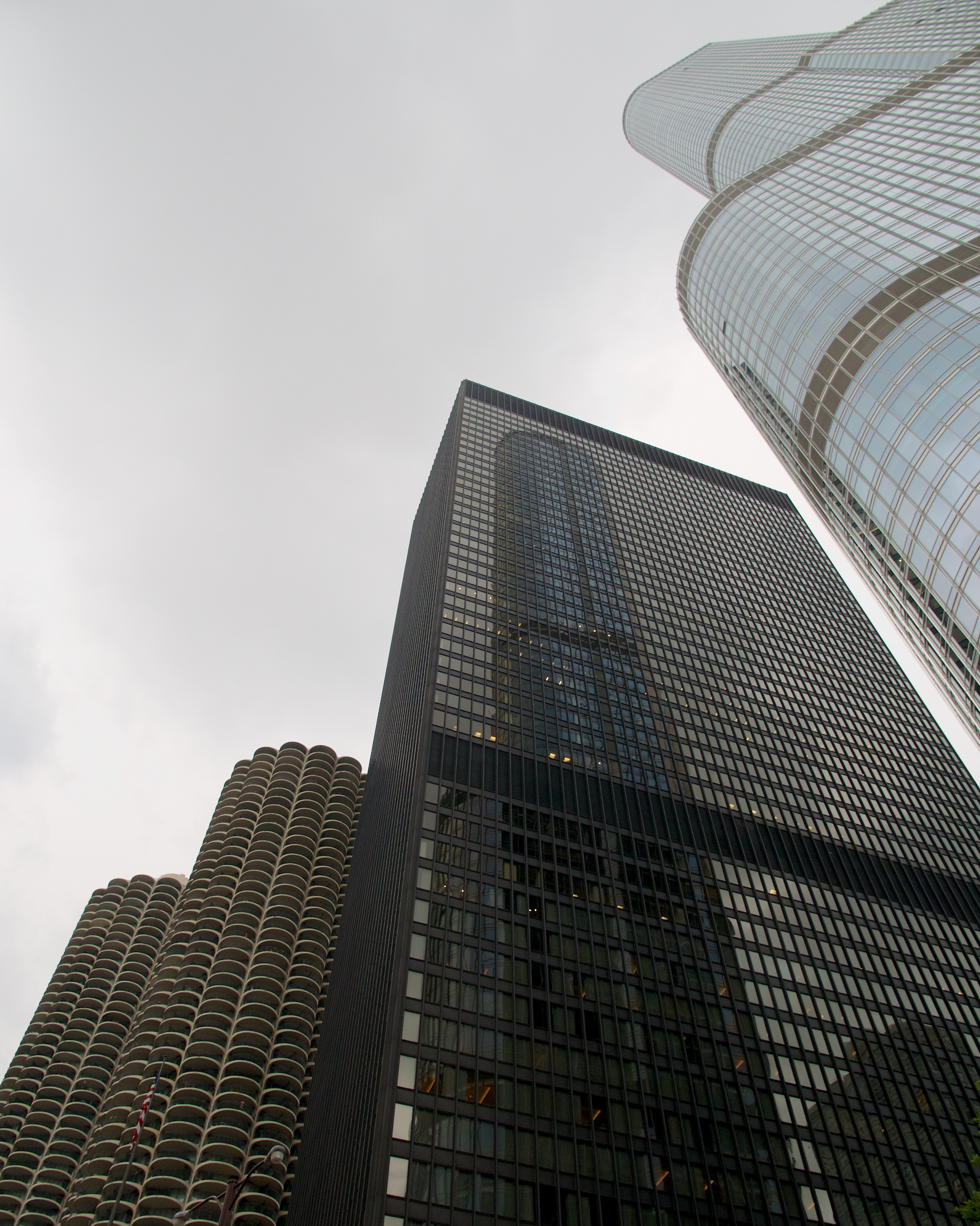 Marina City, AMA Plaza, Trump Tower