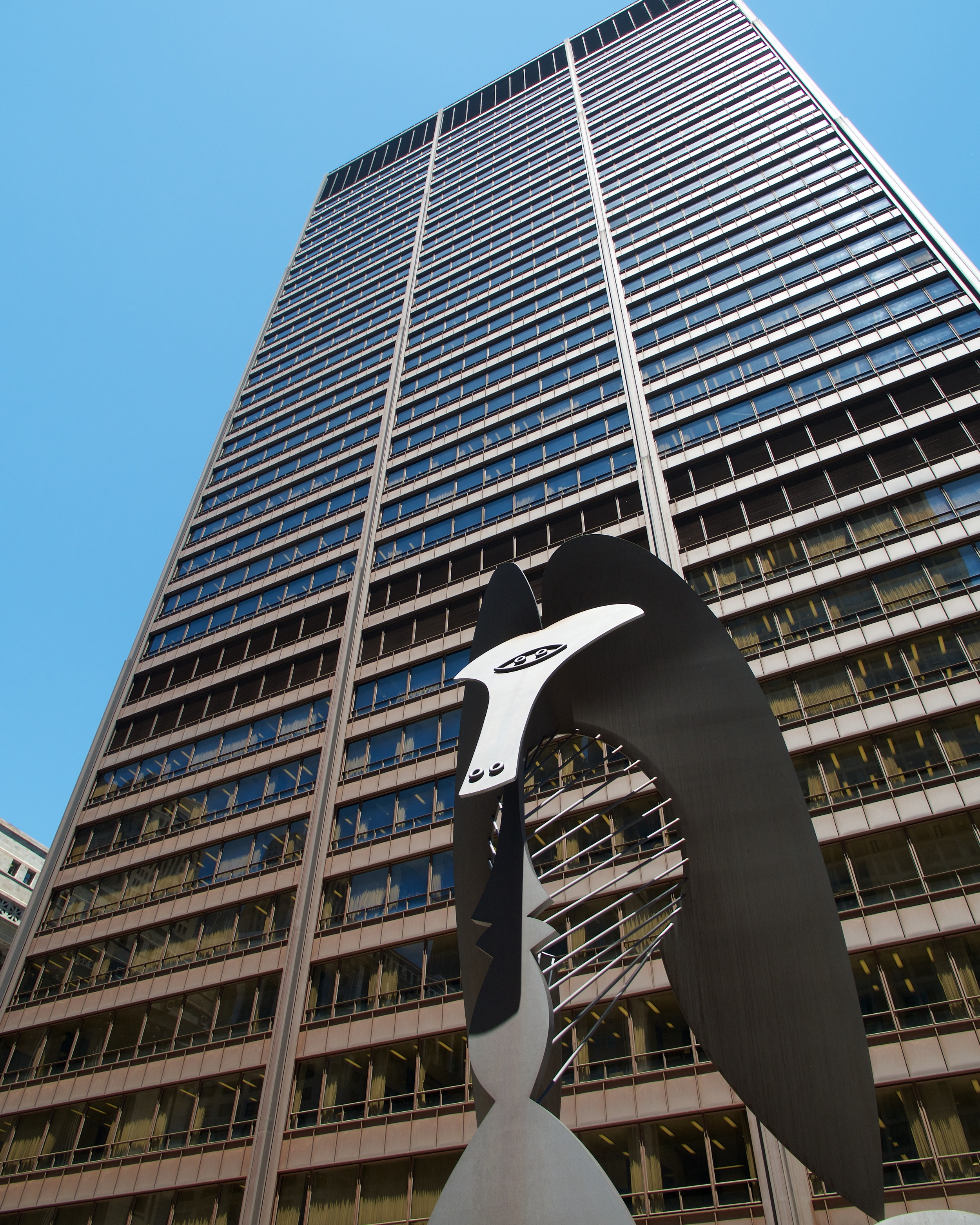 Untitled by Picasso in Daley Plaza