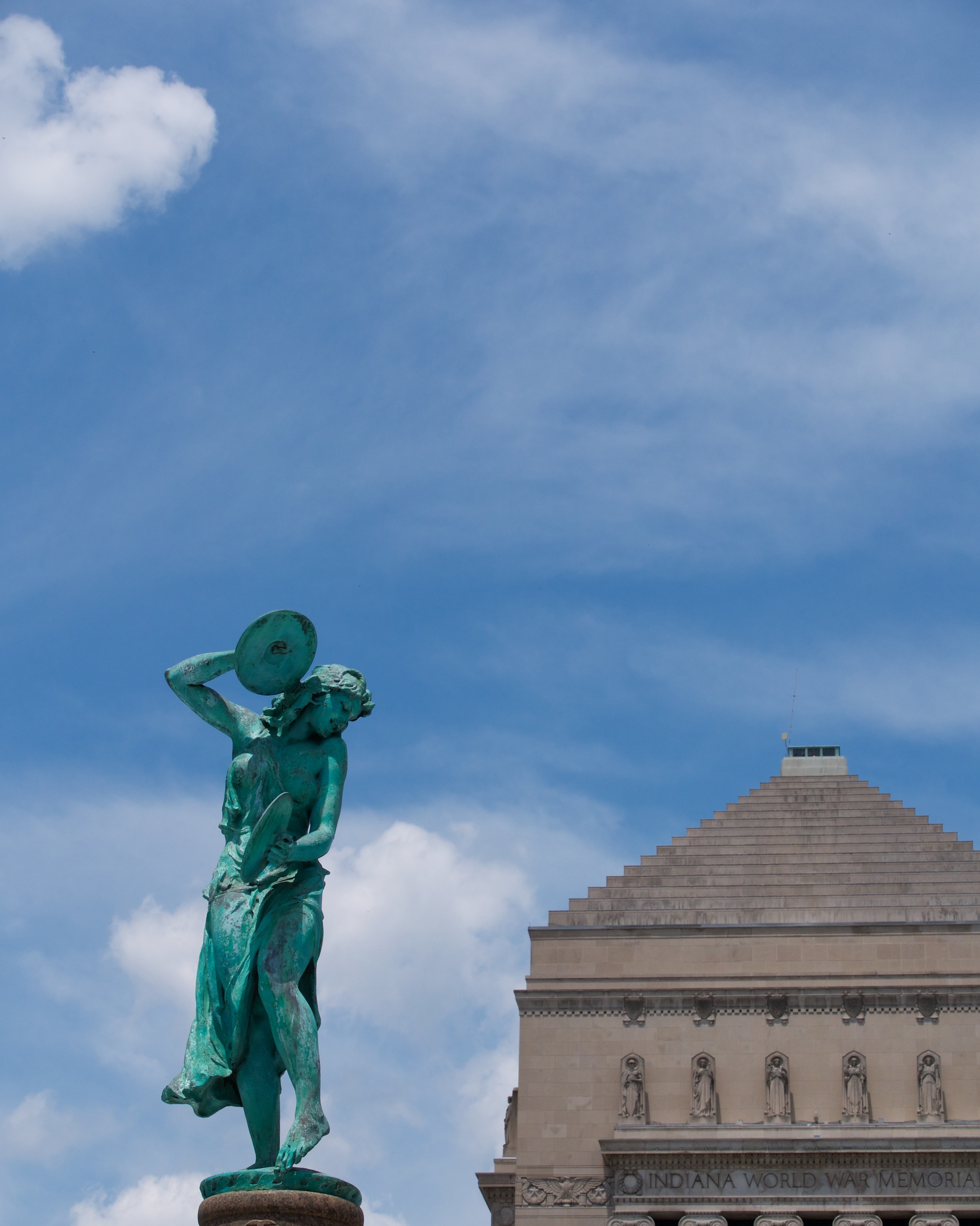 Memorial Park, Indiana World War Memorial