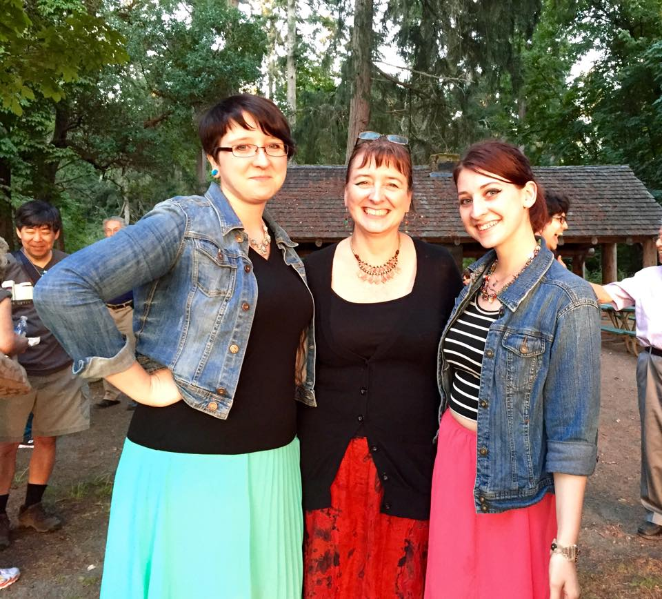 Noël, Kim, and Autumn (photo by Kathy Tashima)
