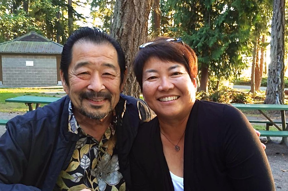 Gary and Kathy (photo courtesy of Kathy Tashima)
