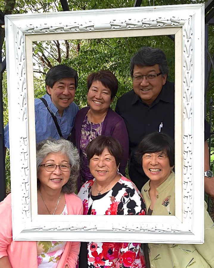 Cousins Frank, Kathy, Robert, Alice, Sherry, Linda (photo courtesy of Kathy Tashima)