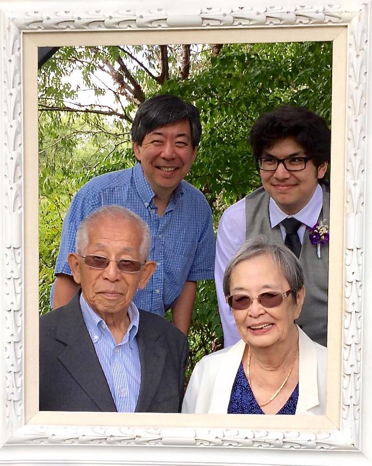 Frank, Tynor, Sumi, Kiyo (photo by Kathy Tashima)