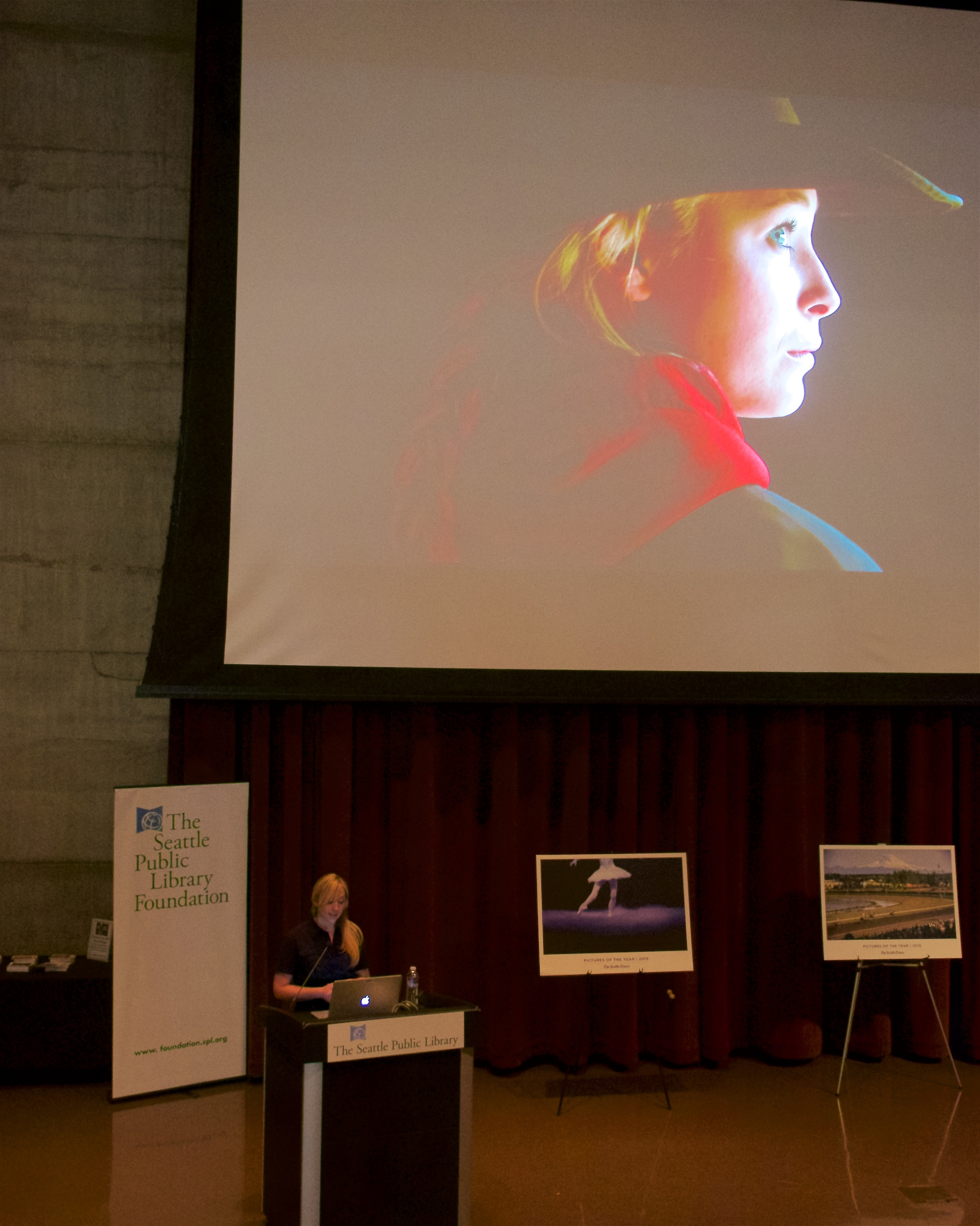 Erika Schultz and her photo of Shelby Kaysner